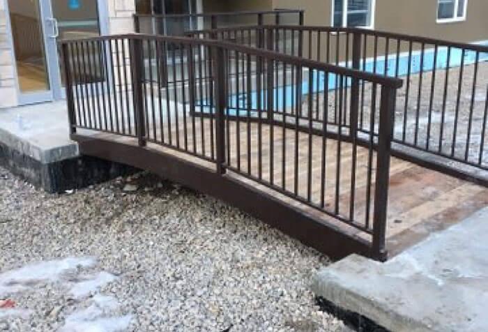 Aluminum railings calgary