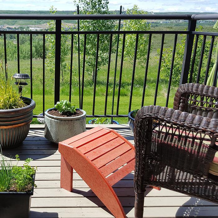 Aluminum deck railing calgary