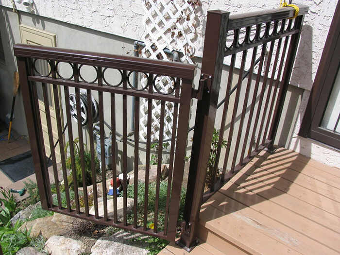 Aluminum railings calgary
